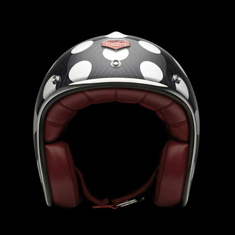 Ruby Motorcycle Helmet Pavillon St Sulpice Size S