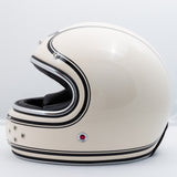 Ruby Motorcycle Helmet Castel Munich 90 Moosacher Size XL