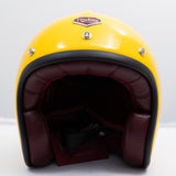 Ruby Motorcycle Helmet Pavillon Louis Lumiere Size L