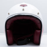 Ruby Motorcycle Helmet Pavillon Munich 90 Spandau Size L (PEAK SOLD SEPARATELY)