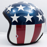 Ruby Motorcycle Helmet Pavillon Costume USA Flag Size L