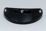 Ruby Visor Carbon Fiber Peak Gloss Black Chrome