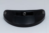 Ruby Visor Carbon Fiber Peak Gloss Black Gun Metal