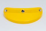 Ruby Visor Carbon Fiber Peak Yellow Chrome