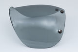 Ruby Pavillon Visage Visor Gun Metal Light Smoke