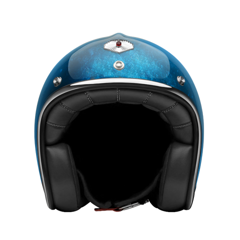 Ruby Motorcycle Helmet Pavillon Pacifique Blue Size M