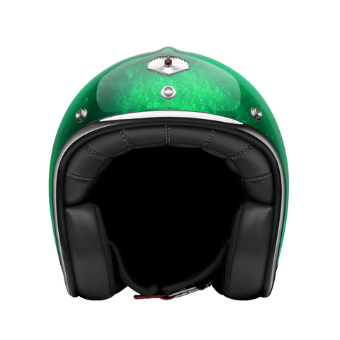Ruby Motorcycle Helmet Pavillon Pacifique Green Size XS
