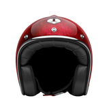 Ruby Motorcycle Helmet Pavillon Pacifique Red Size XL