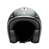 Ruby Motorcycle Helmet Pavillon Pacifique Silver Size S