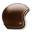 Ruby Motorcycle Helmet Pavillon St Jacques Size S