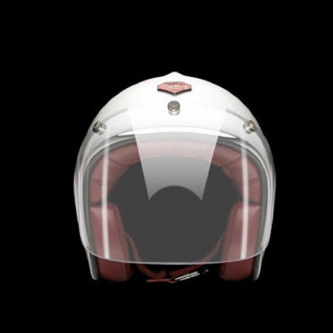 Ruby Pavillon Visage Visor Chrome Clear