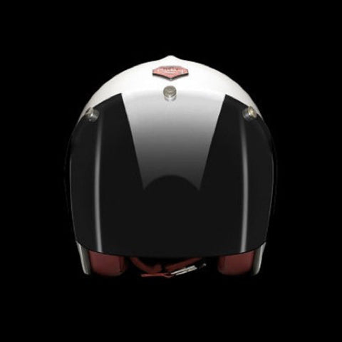 Ruby Pavillon Visage Visor Chrome Dark Smoke