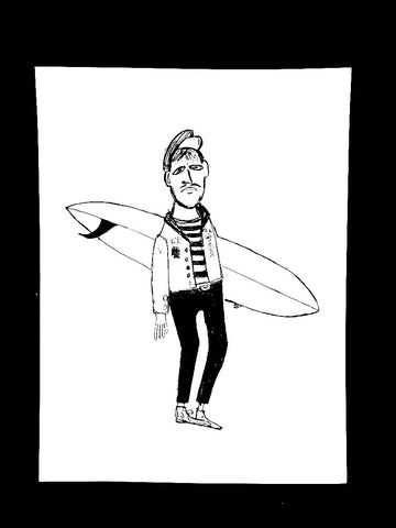 FRENCH SURFER