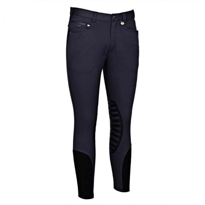 GEORGE H. MORRIS MEN'S RIDER SILICONE KNEE PATCH BREECH