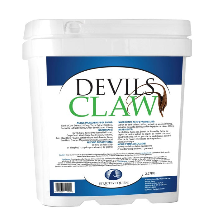 STRICTLY EQUINE DEVIL'S CLAW, 2.27 KG