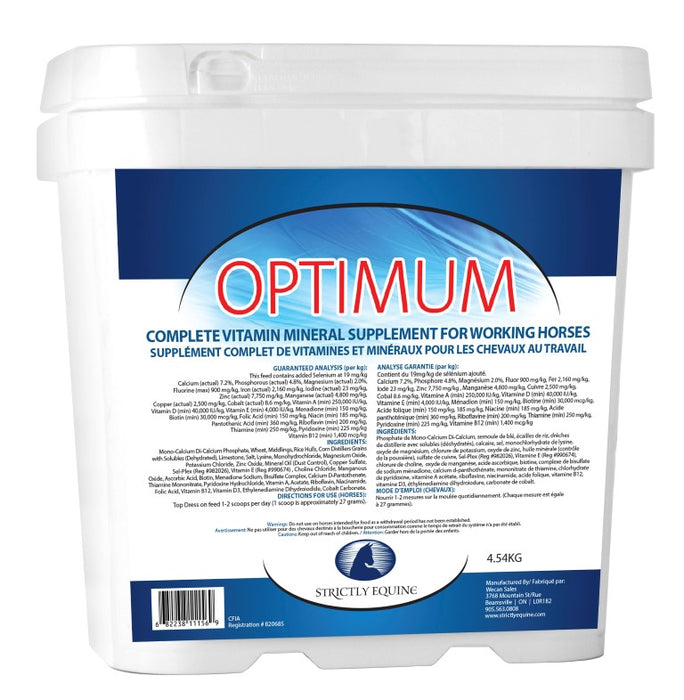 STRICTLY EQUINE OPTIMUM, 4.54 KG