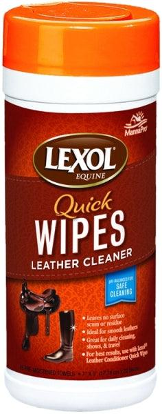 LEXOL CANISTER QUICK-WIPES CLEANER 25 PRE-MOISTENED TOWELETTES