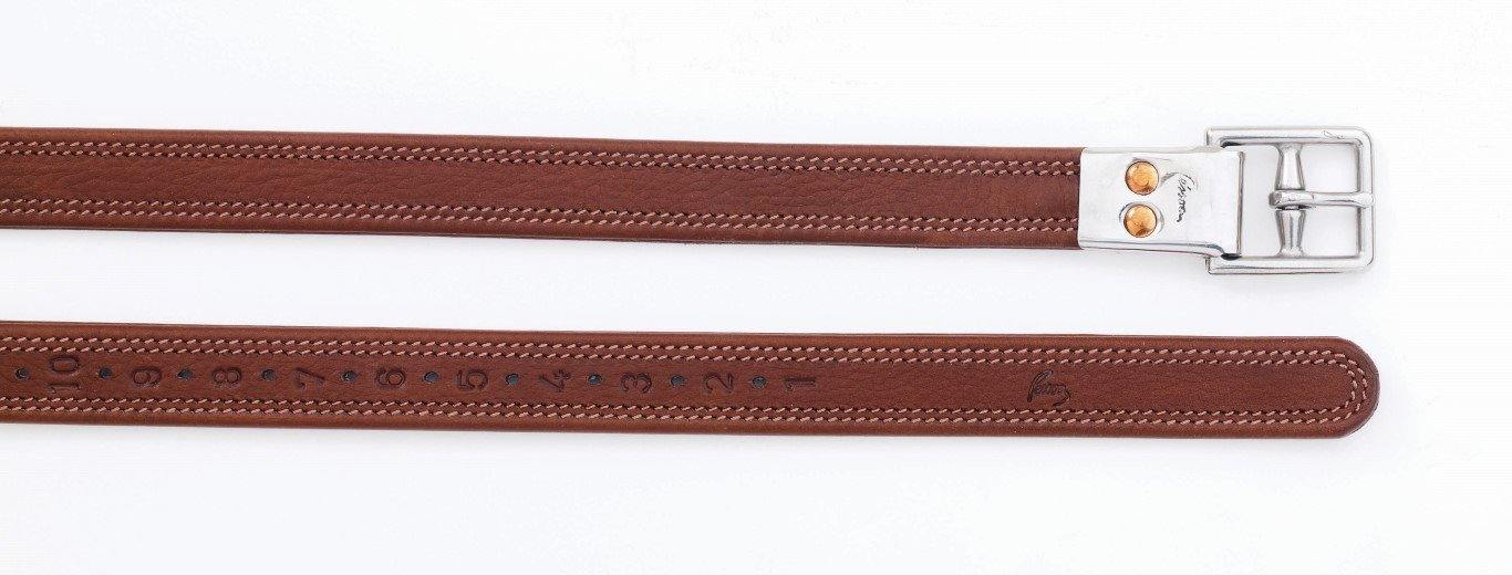 PESSOA CHILD'S BIOTHANE LINED LEATHERS WITH METAL CLASP END