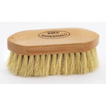 "EQUINE ESSENTIALS WOODBACK DANDY BRUSH WITH MEDIUM STIFF TAMPICO BRISTLES, SMALL - 6"" LONG"