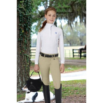 ROMFH CHILD'S SARAFINA EURO SEAT KNEE PATCH BREECH