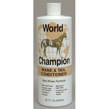 WORLD CHAMPION MANE & TAIL CONDITIONER, NON-RINSE, 925 ML