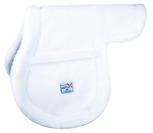 MEDALLION FLEECE CHILDS ALL-PURPOSE SHAPED PAD WHITE