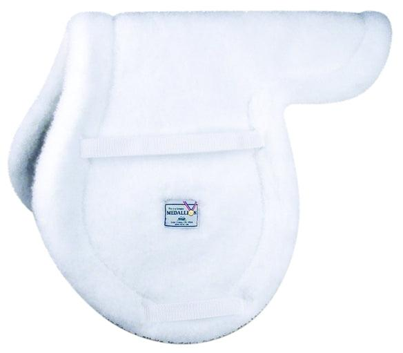 MEDALLION FLEECE HIGH PROFILE CLOSE CONTACT PAD WHITE