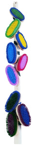 PICADOR RAINBOW MULTI COLORED BODY BRUSH, ASSORTED COLOURS
