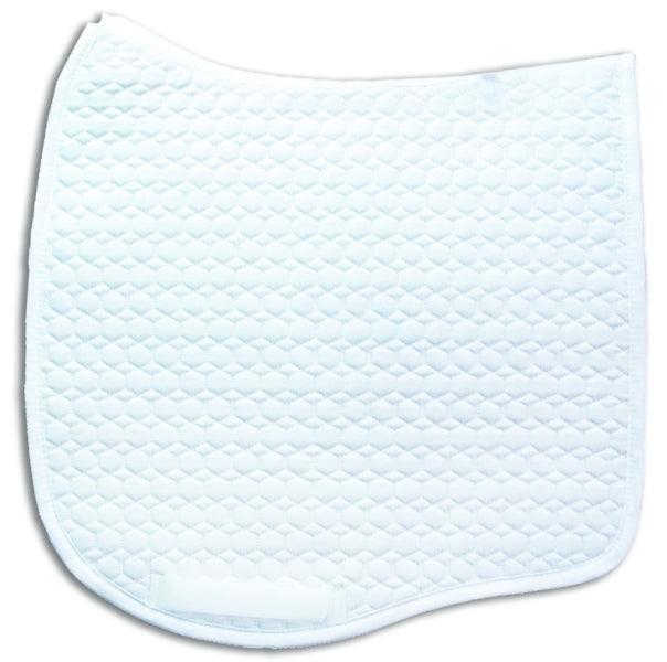 MATTES PLAIN QUILT EURO-FIT DRESSAGE LARGE WHITE