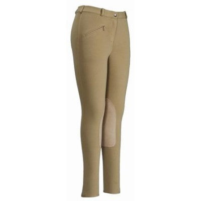TUFFRIDER COTTON MEN'S KNEE PATCH BREECH, REGULAR