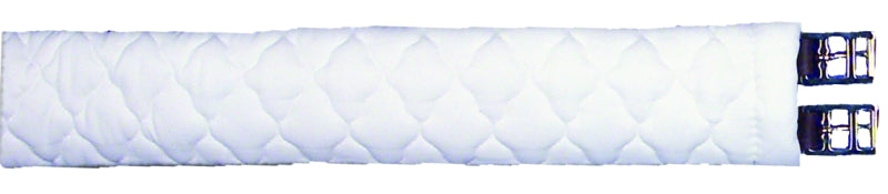 "SUPERQUILT FLEECE GIRTH COVER 40"" WHITE"