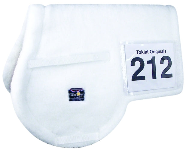 SUPERQUILT FLEECE ALL-PURPOSE WITH NUMBER POCKET PAD WHITE