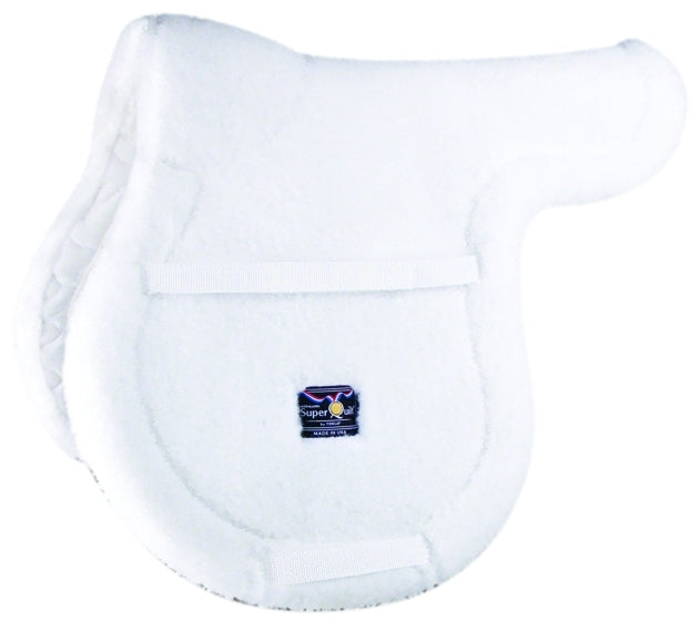 SUPERQUILT FLEECE HIGH PROFILE CLOSE CONTACT PAD WHITE