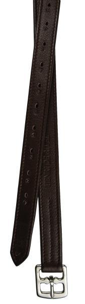 HENRI DE RIVEL 1 INCH TRIPLE LEATHER COVERED LEATHERS, 54 INCH