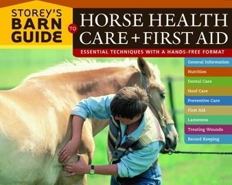ROBIN CATALANO, STOREY`S BARN GUIDE TO HORSE HEALTH CARE AND FIRST AID