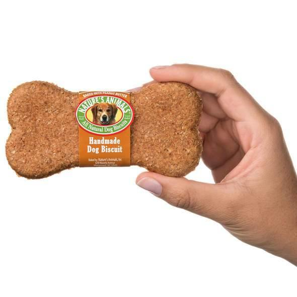 NATURE'S ANIMALS ORIGINAL BAKERY BISCUITS PEANUT BUTTER