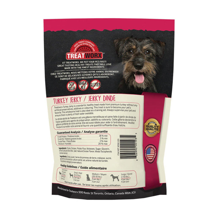 TREATWORX TURKEY JERKY - TackN'Bark