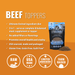 VITAL ESSENTIALS BEEF FREEZE-DRIED GRAIN FREE MEAL BOOST TOPPER - TackN'Bark