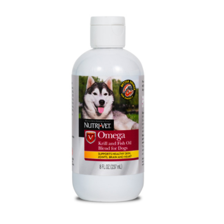 NUTRIVET OMEGA KRILL FISH OIL - TackN'Bark