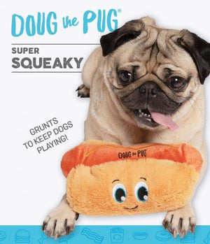 OUTWARD HOUND DOUG THE PUG INCREDIPLUSH HOT DOG