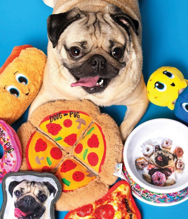OUTWARD HOUND DOUG THE PUG INCREDIPLUSH PIZZA PUZZLE