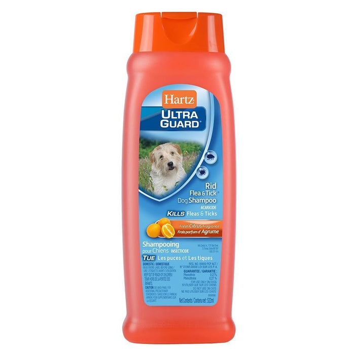 HARTZ ULTRAGUARD RID FLEA AND TICK DOG SHAMPOO