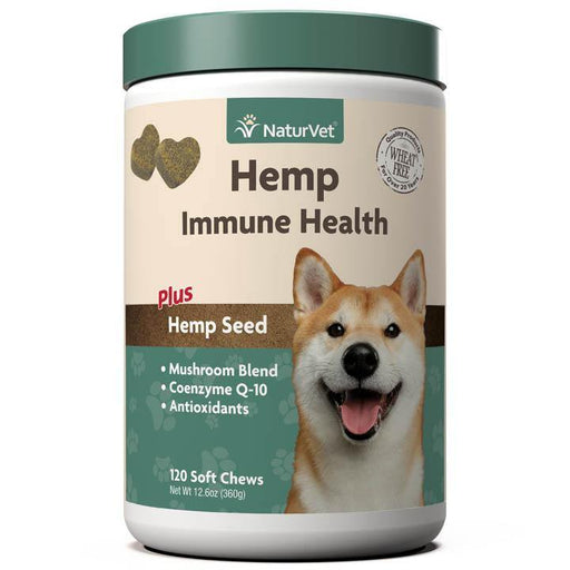 NATURVET HEMP IMMUNE HEALTH FOR DOGS - TackN'Bark