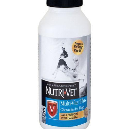 NUTRIVET MULTI VITE PLUS CHEWABLE TABLETS - TackN'Bark