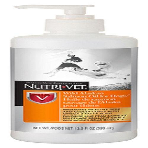 NUTRIVET WILD ALASKAN SALMON OIL LIQUID - TackN'Bark