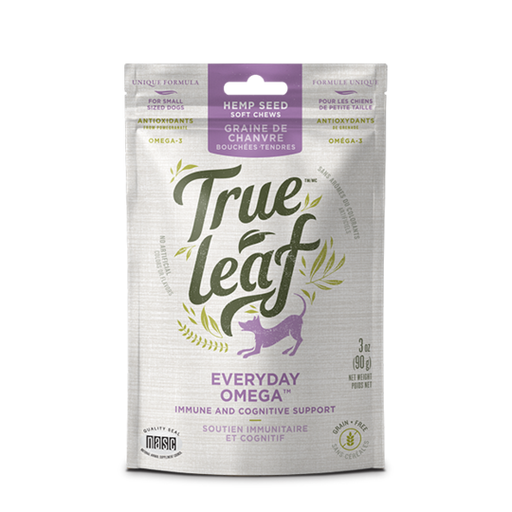 TRUE LEAF OMEGA CHEWS - TackN'Bark