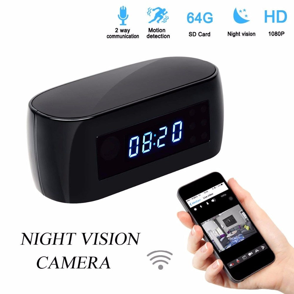 Clock Stealth Spy Camera CM10