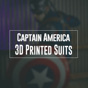Captain America 3D Printed Suits