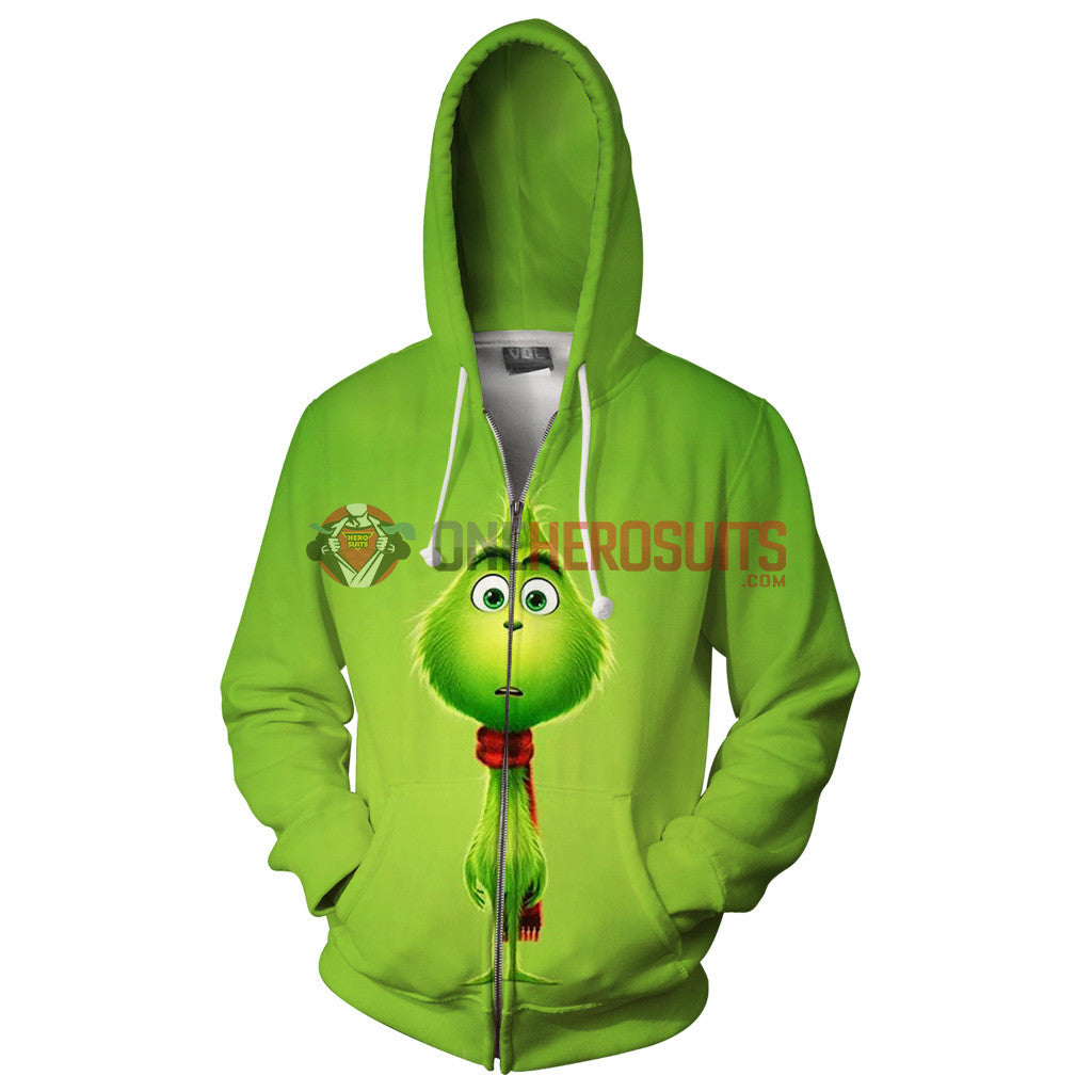 little grinch hoodies