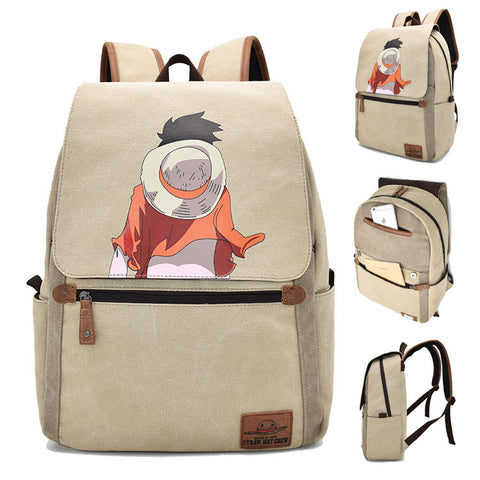 One Piece Backpack Monkey D. Luffy Printed Creative Bag